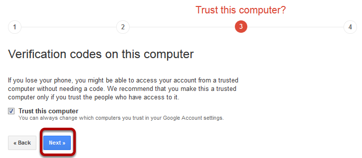 gmail trusted computer