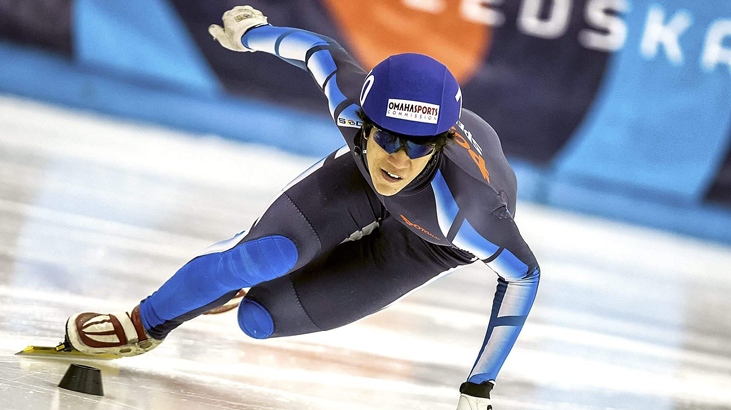 speed skater chamption