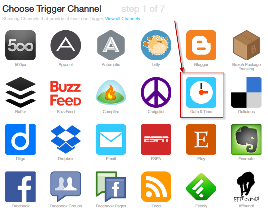 ifttt recipe for evernote